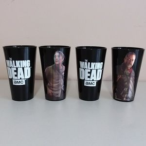 Just Funky AMC The Walking Dead Drinking Glasses